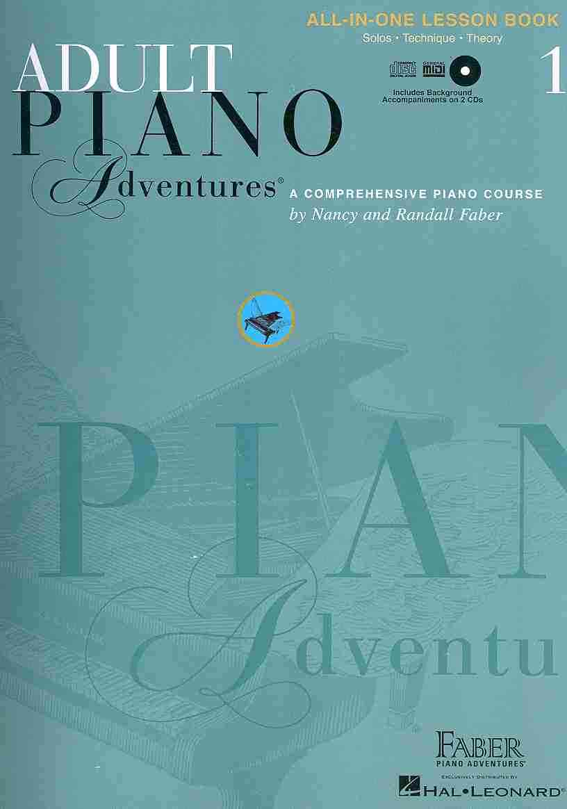 Adult Piano Adventures All-in-one Lesson Book 1 By Faber, Nancy (COP)/ Faber, Randall (COP)